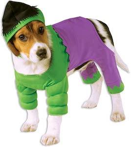 Hulk Dog Fancy Dress