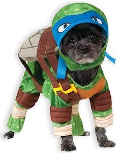 Leonardo Teenage Mutant Ninja Turtles Dog Costume