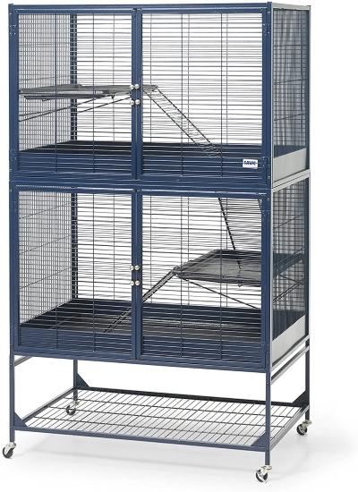 Savic Suite Royale Navy Blue Small Animal Cage