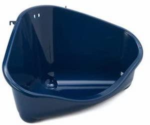 Sharples & Grant Small Animal Eco Corner Litter Toilet Pan