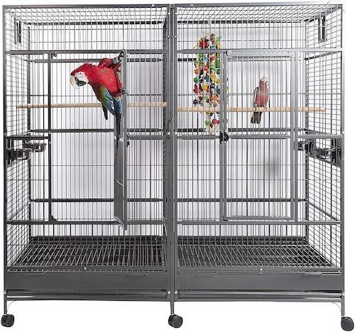 Sky Pets Rainforest Nova 2 Antique Parrot Cage
