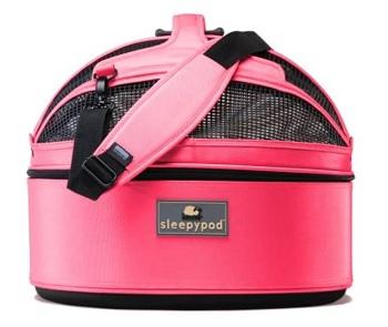 Sleepypod Medium Mobile Pet Bed, Blossom Pink