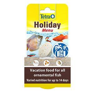 Tetra Holiday Menu Tropical and Temperate Fish Food