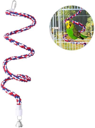 UEETEK Swing Chew Cotton Rope Toy