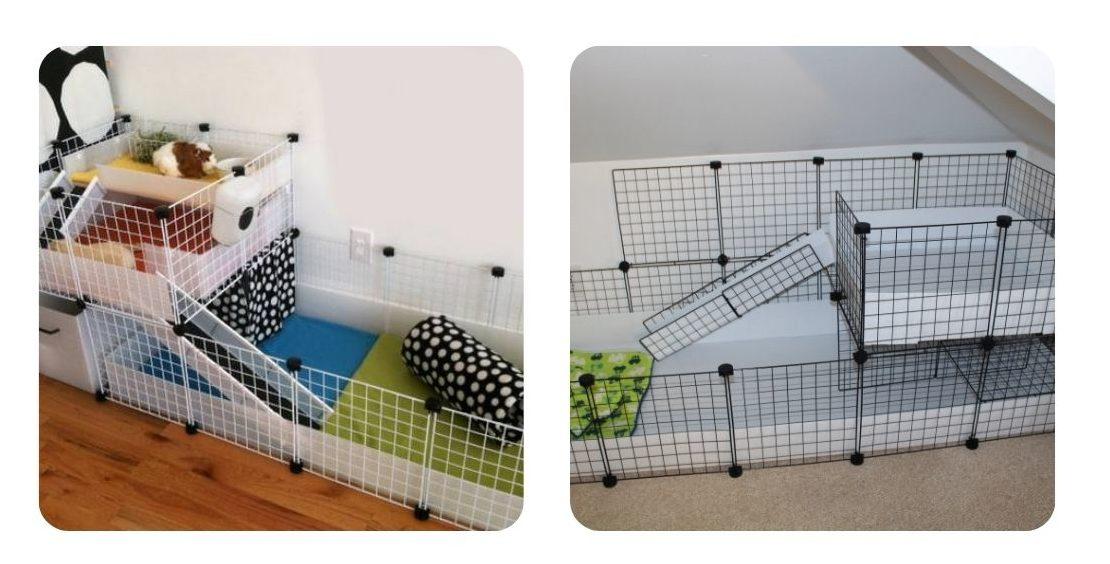 how to make a DIY CC guinea pig cage