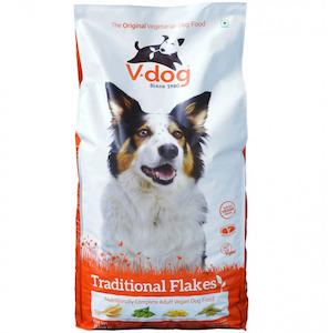 V-Dog Traditional Flake Vegan Dog Food
