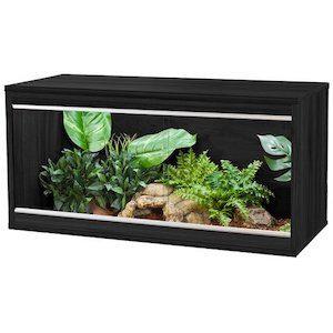 VivExotic Repti-Home Compact Vivarium Med Black