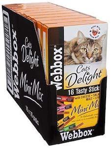 Webbox Cat Delight Treat Sticks