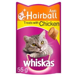 Whiskas Cat Treats Anti-Hairball