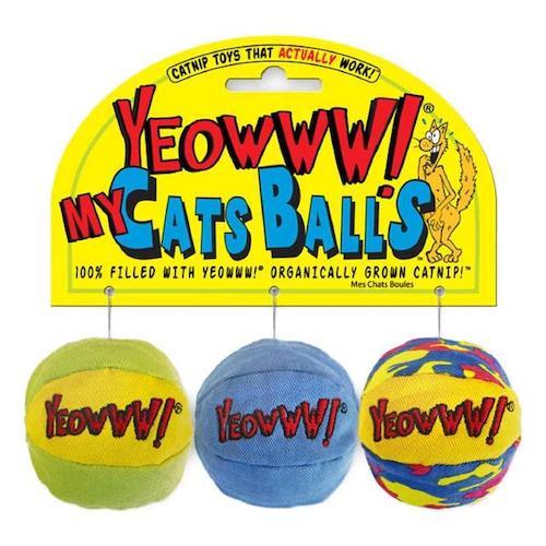 Yeowww! Catnip My Cat Catnip Balls