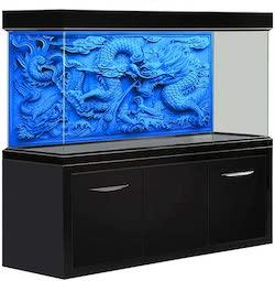 Amakunft Blue Dragon Aquarium Background