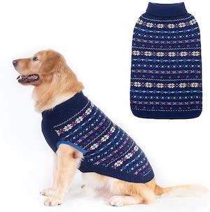 Bing Pet Classic Snowflake Dog Jumper