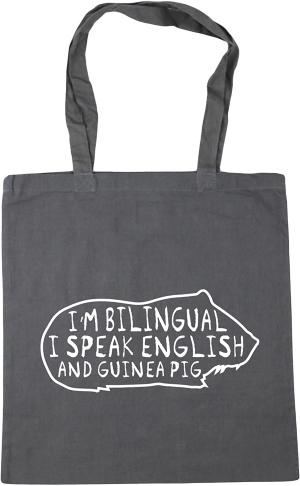 Bilingual Guinea Pig Tote Bag