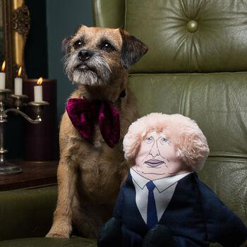 Boris & Trump Political Dog Toys