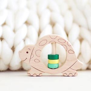 Eco Baby Turtle Rattle