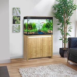 Fluval Roma Cabinet for 125 Litre Aquariums Oak Finish