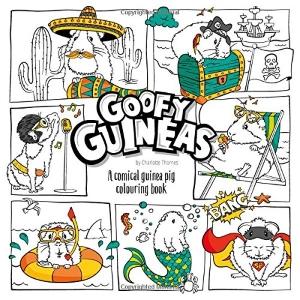 Goofy Guineas Colouring Book