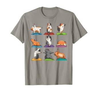 Guinea Pig Yoga T-shirt