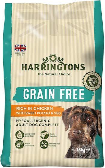 Harrington's Grain-Free Hypoallergenic Dog Food