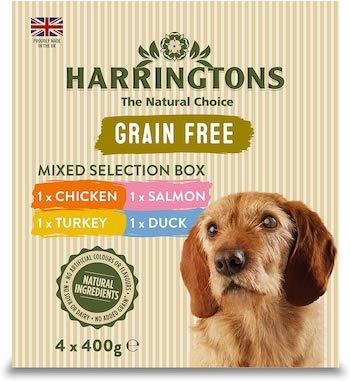 Harringtons Grain Free Wet Mixed Dog Food Pack