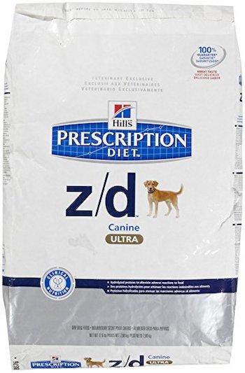 Hill's Dog Food Z/D Allergen-Free Prescription Diet