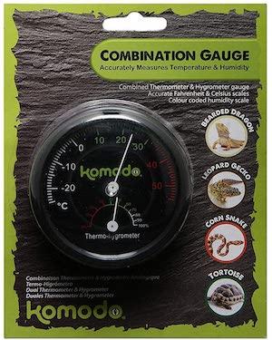 Komodo Habitat Dual Gauge