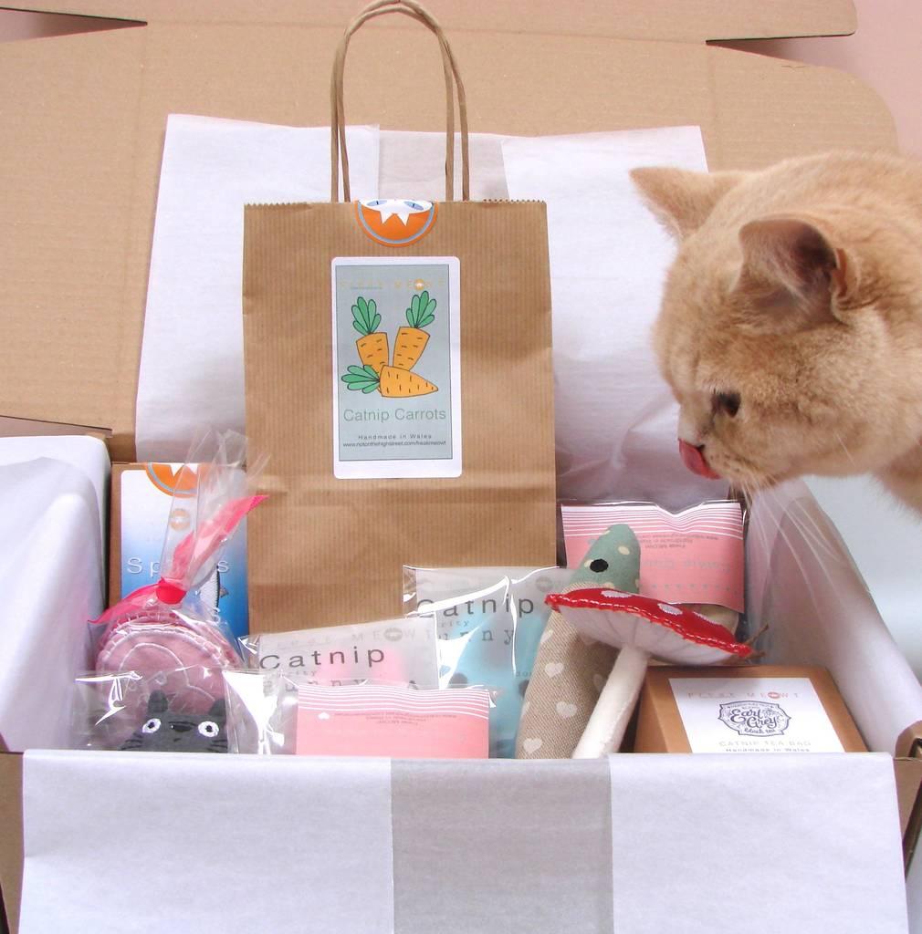 Freak Meowt's Ultimate Catnip High Cat Toys Hamper