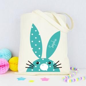 Personalised Rabbit Tote Bag