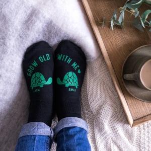 Grow Old With Me Socks