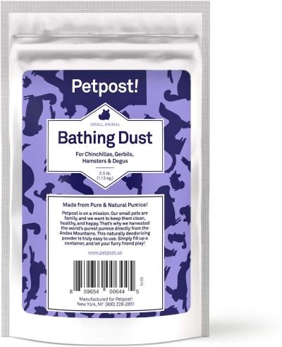 Petpost Chinchilla Bathing Dust