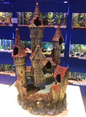 Mezzaluna Gifts Large Princess Castle Fish Tank Ornament