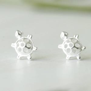 Tiny Turtle Ear Studs