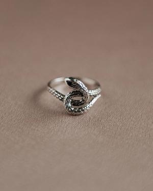 Sunday Sterling Silver Snake Ring