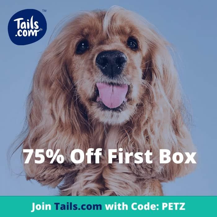 Tails.com 75% Off